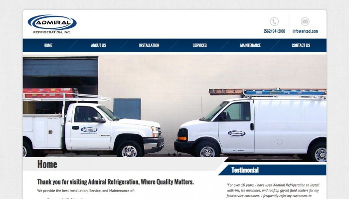 Admiral Refrigeration, Inc.