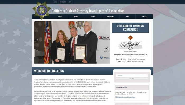 CA District Attorney Investigators' Association