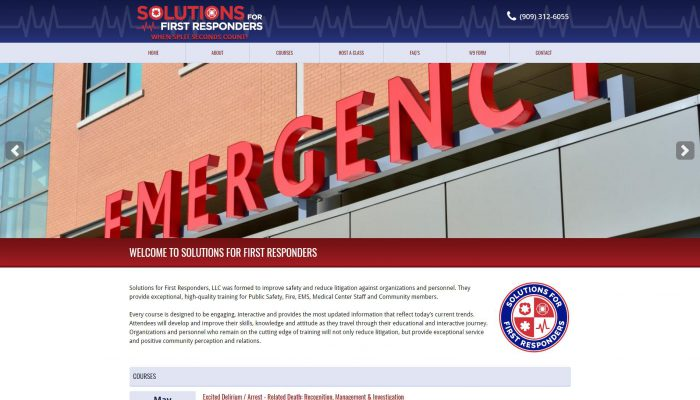 Solutions For First Responders